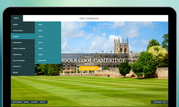 Cambridge School Website