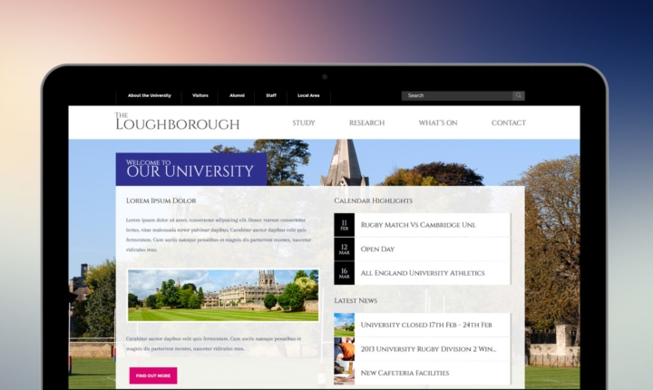 Loughborough School Website