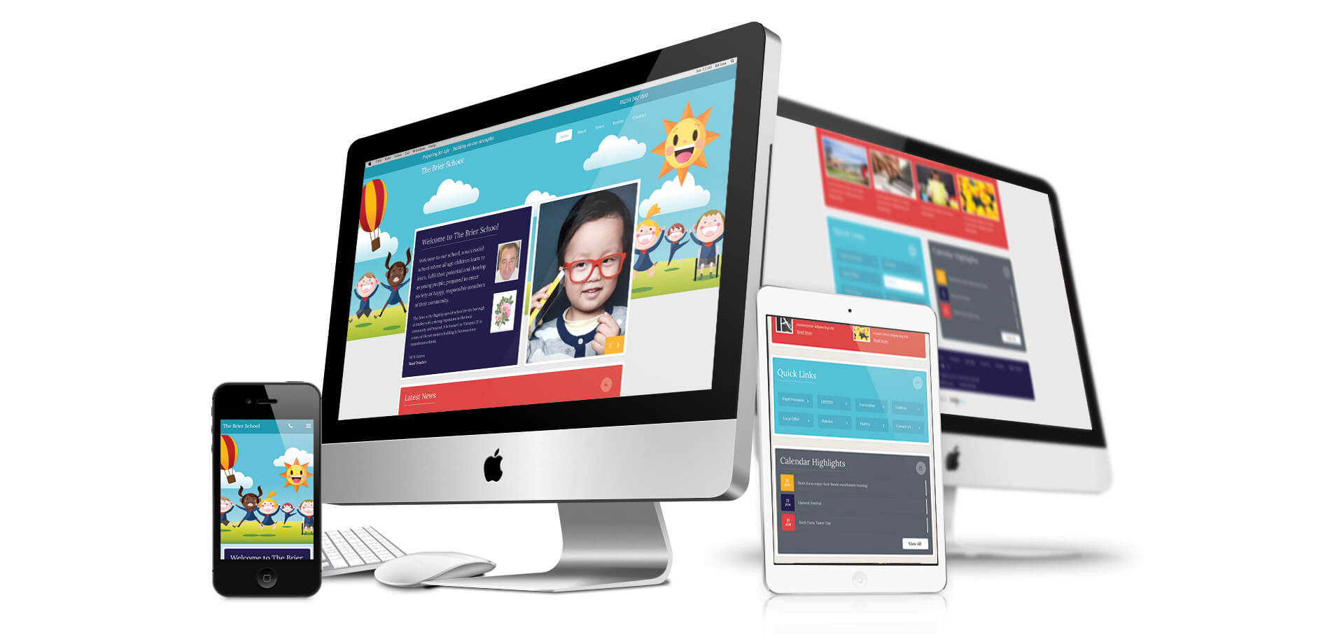 Website Design For Primary Schools