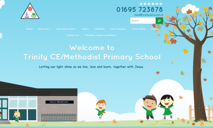 Trinity_Primary _School_Homepage_Screenshot