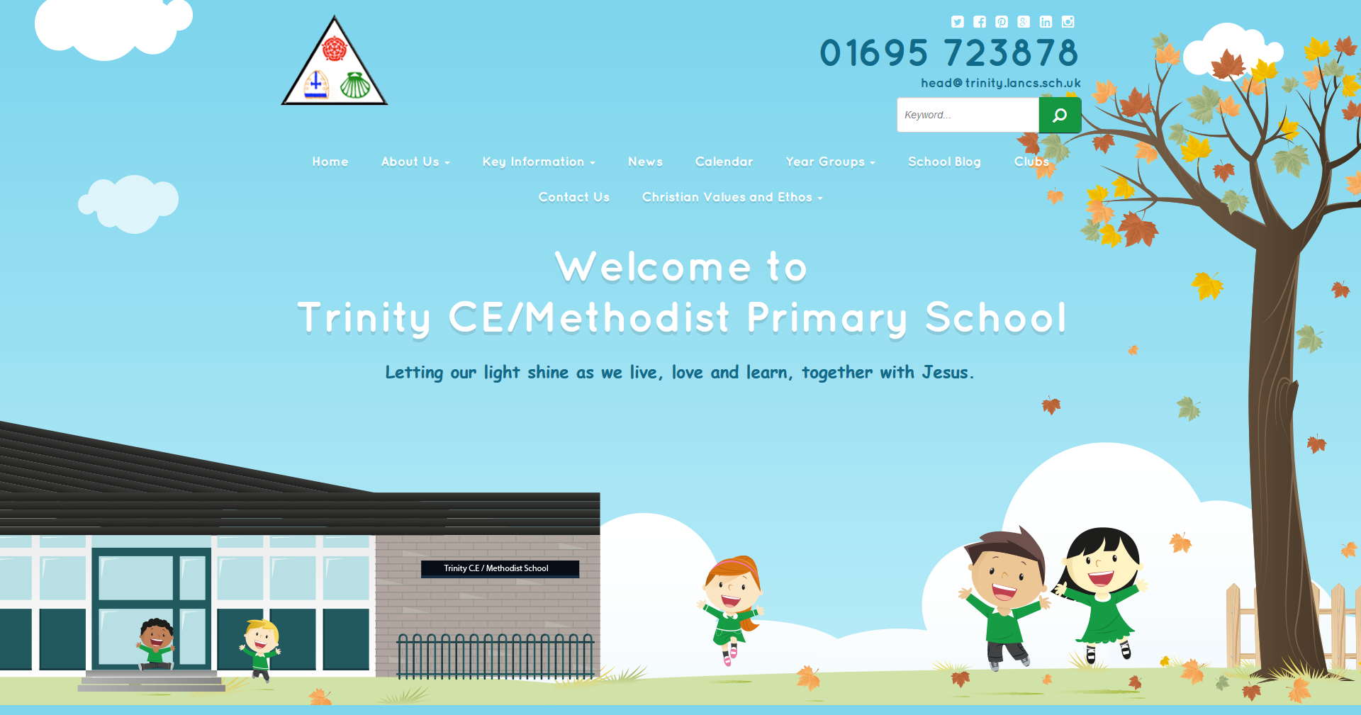 Trinity_Primary _School_Homepage_Screenshot2